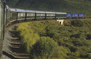 Mit dem Rovos Rail unterwegs , ©David Lefranc