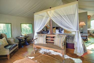 Luxus-Zelt