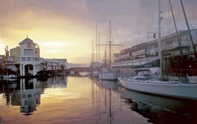Der Hafen von Knysna