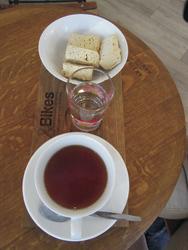 Rooibos Tee und Rusks