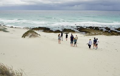 Geführte Strandwanderung