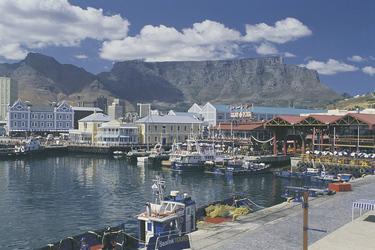 V&A Waterfront und der Tafelberg