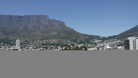 Den Tafelberg im Blick