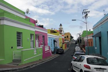 Im Bo-Kaap Viertel