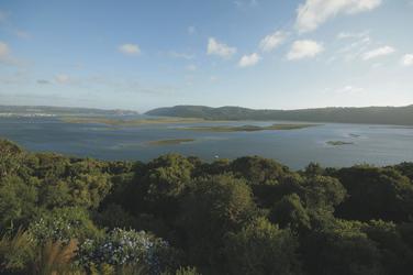 Einzigartiger Blick über die Lagune