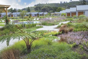 Gepflegte Garten