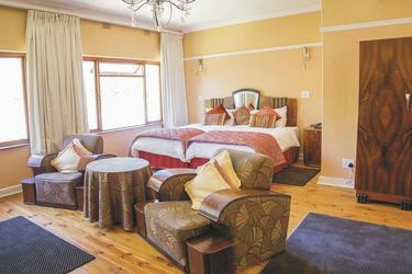 Art-Deco Luxus-Zimmer