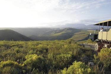 Herrliches Panorama auf Botlierskop