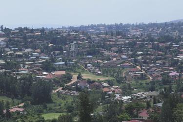 Blick auf Kigali
