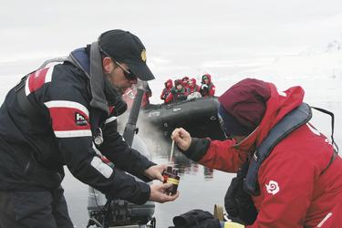 Wissenschaftsprojekte der Expeditionskreuzfahrt