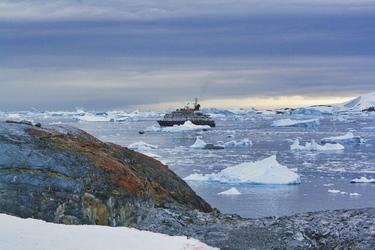Lage der Island Sky im Treibeis