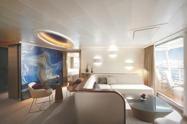Wohnbereich der Grand Suite