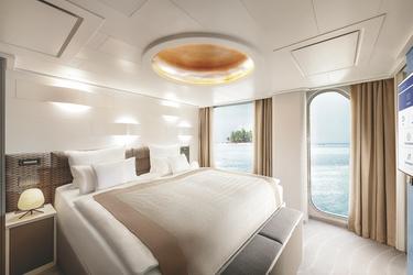 Schlafzimmer der Grand Suite