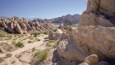 Quebrada de las Flechas zwischen Cafayate und Cachi