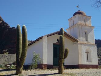 Kirche in der Region Salta