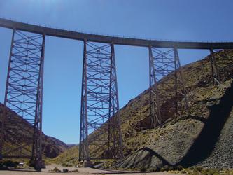 Brücke im Nordwesten Argentiniens