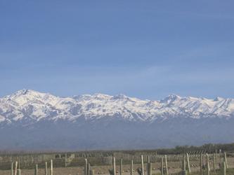 Andenlandschaft bei Mendoza