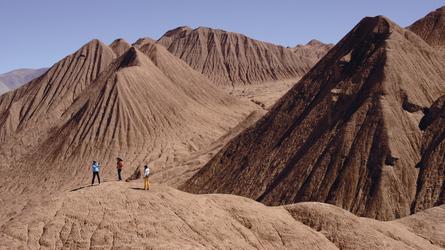 Wüstenlandschaft in der Puna