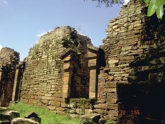 Ruine einer Jesuitenmission
