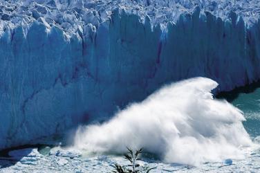 Perito Moreno Gletscher beim Kalben