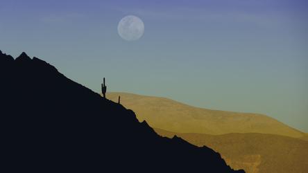Mondaufgang Humahuaca