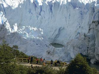 am Gletscher Perito Moreno