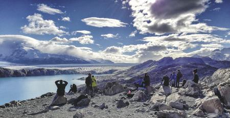 Blick in Richtung südliches Eisfeld