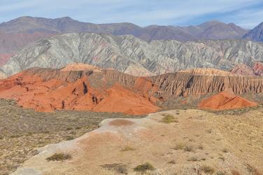 Blick in die Quebrada de las Conchas