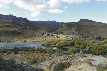 Landschaft in der Nähe von Bariloche , ©Australia Plus