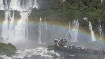 Aussichtssteg Iguazu Wasserfälle