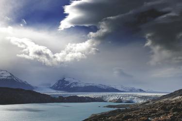 Blick auf den Upsala Gletscher