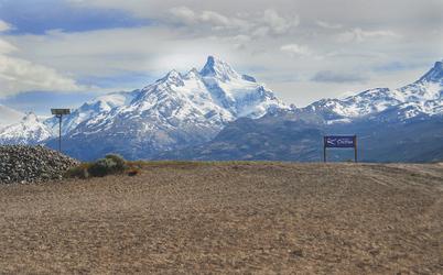 raue und wilde Landschaft Patagoniens