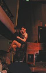 Tango-Tänzer in einer Milonga