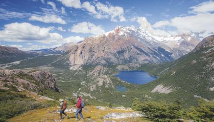 Wanderung im Naturreservat Los Huemules, ©explora