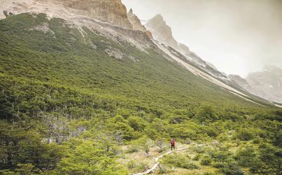 Wanderung im Naturreservat Los Huemules