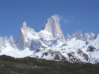 Fitz Roy Massiv in Patagonien  ©Moser active Chile