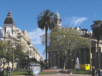 Hauptplatz mit Kathedrale, Buenos Aires