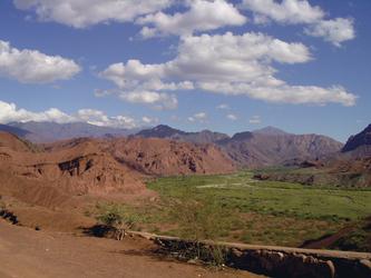 Landschaft im Nordwesten Argentiniens