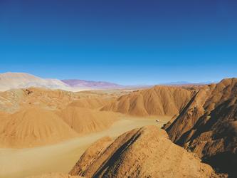 in der Labyrinth-Wüste