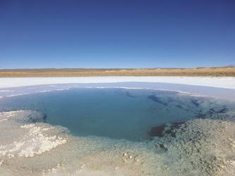 Lagune bei Tolar Grande