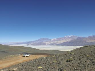 unterwegs in der Puna-Wüste