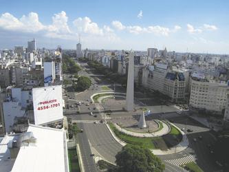 Avenida 9 de Julio, Buenos Aires, ©S.A.T.
