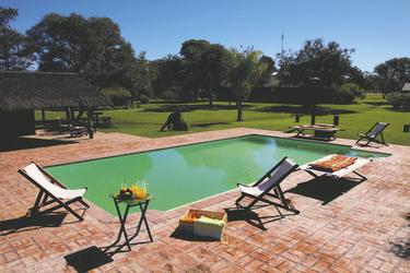 Poolbereich Rancho del Estero (c) DanielWagner, ©Copyright_ DanielWagner.com.ar