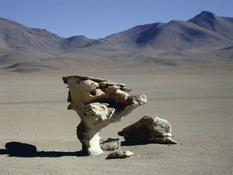 Steinformation im Naturschutzgebiet Avaroa, ©Bolivia-Online