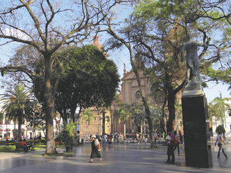 Hauptplatz in Santa Cruz de la Sierra