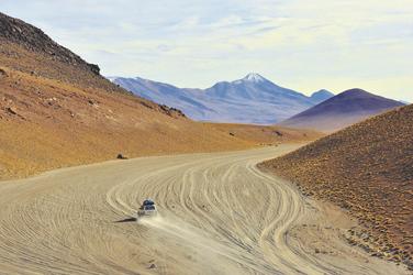 unterwegs in der Siloli Wüste