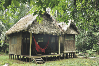 Chalalan Ecolodge, Bungalow, ©Creative Tours