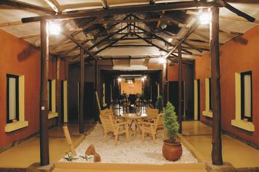 im Hotel Jardines de Uyuni