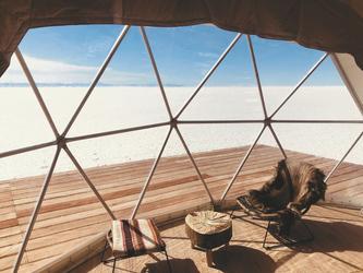 Blick aus dem Wohnzelt, ©Amazing Escapes