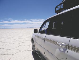 unterwegs im Salar de Uyuni
